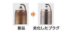 イリジウムプラグ交換
