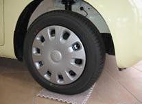 タイヤの空気圧にご注意!